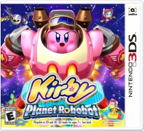 kirby planet robobot jaquette