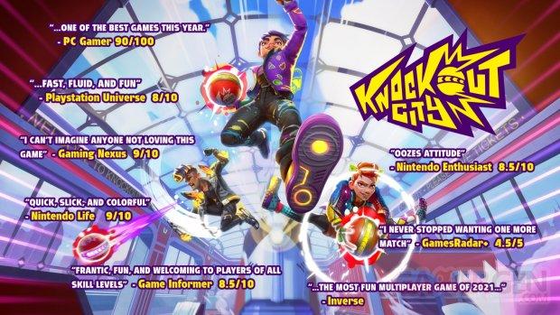 Knockout City review test note 5 millions chiffres joueurs