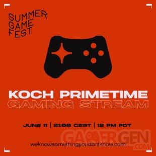 Koch Primetime Gaming Stream logo head E3 2021