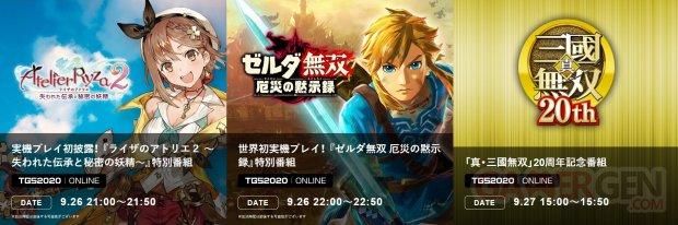 Koei Tecmo TGS 2020 line up bis