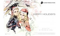 Kojima Productions Holidays head