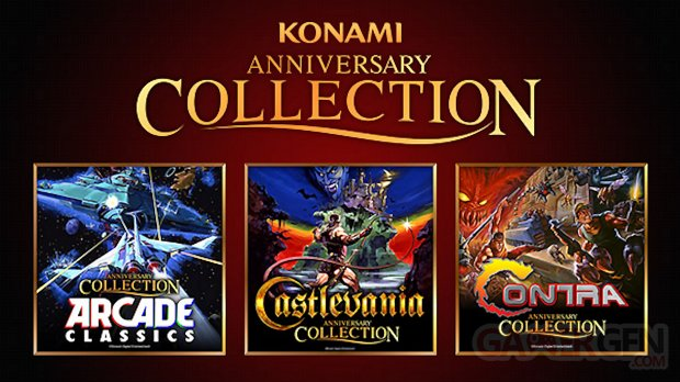 Konami Anniversary Collection image