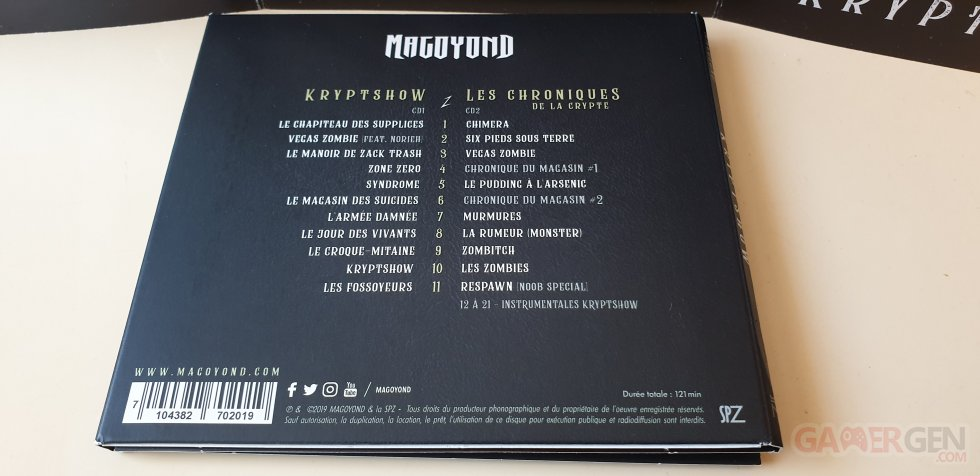 Kryptshow - Magoyond - album CD -0006