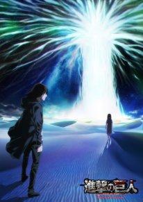 L'Attaque des Titans Saison 4 partie 2 finale Shingeki no Kyojin poster affiche