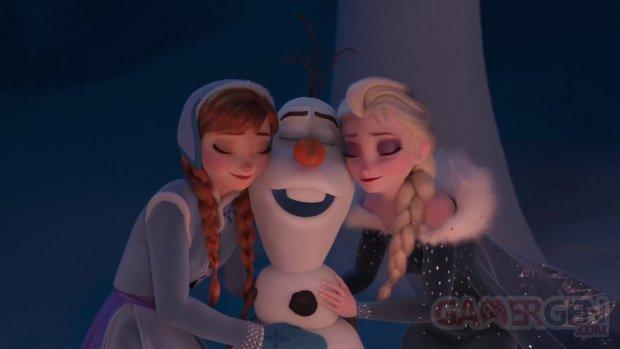 La Reine des Neiges Joyeuses Fetes Olaf