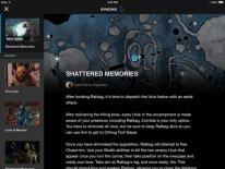 La Terre du Milieu Ombre du Mordor application Palantir images screenshots 4