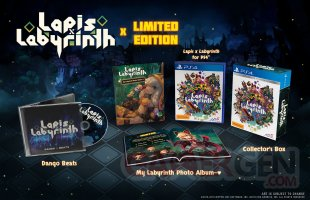 Lapis x Labyrinth collector PS4 08 12 2018