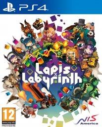 Lapis x Labyrinth jaquette PS4 08 12 2018