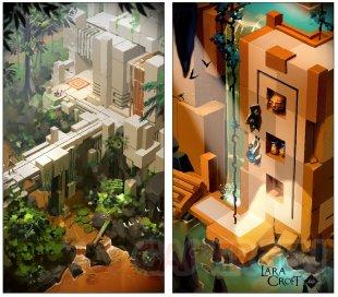 Lara Croft GO 06 08 2015 concept art