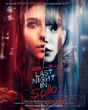 Last Night in Soho poster affiche