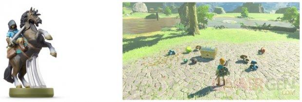 Legend Zelda Breath Wild Fonctionnalités Amiibo (2)