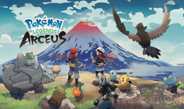 Légendes Pokémon Arceus artwork 26 05 2021