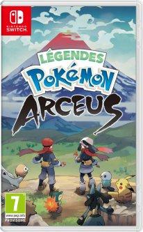 Légendes Pokémon Arceus jaquette 26 05 2021