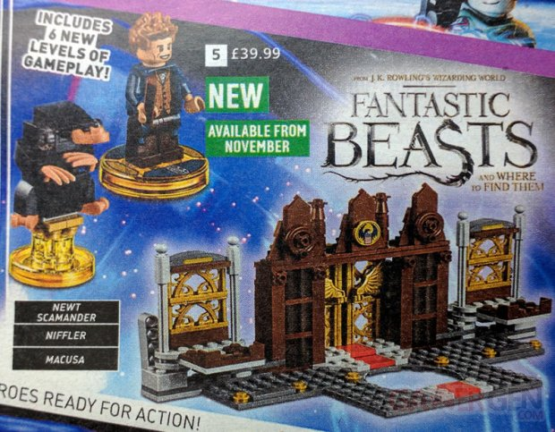 LEGO Dimensions Story Pack Les Animaux Fantastiques