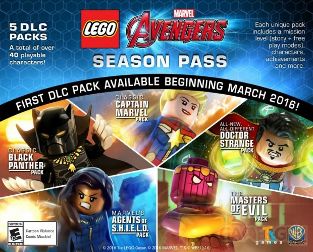 LEGO Marvel s Avengers Season Pass