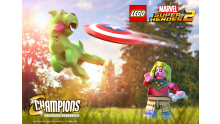 LEGO Marvel Super Heroes 2 Pack Personnages Champions