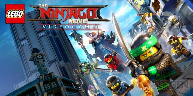 LEGO Ninjago Le Film Le Jeu Vidéo art