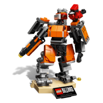 LEGO Overwatch Bastion (2)