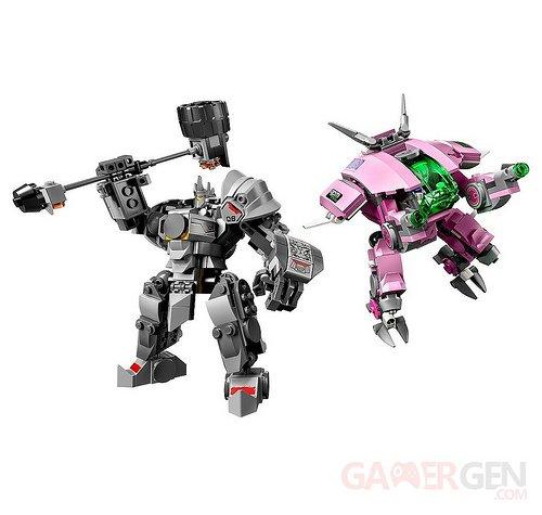 LEGO Overwatch D.Va & Reinhardt (3)