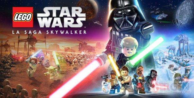 LEGO Star Wars La The Skywalker Saga key art banner FR