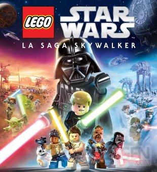 LEGO Star Wars La The Skywalker Saga key art FR