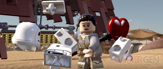 LEGO Star Wars Le Réveil de la Force head