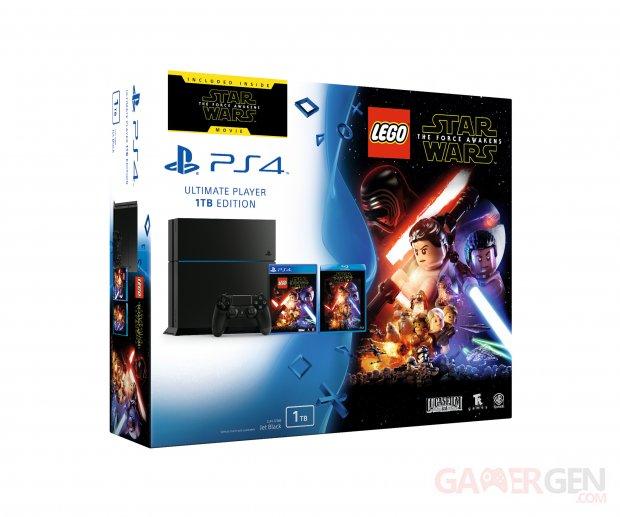 LEGO Star Wars le Réveil de la Force Pack Bundle PS4 Blu Ray Film