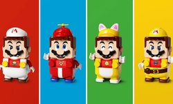 LEGO Super Mario Power Up Packs head 1