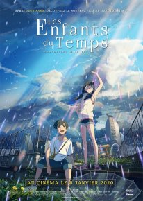 Les Enfants du Temps Weathering with You poster affiche