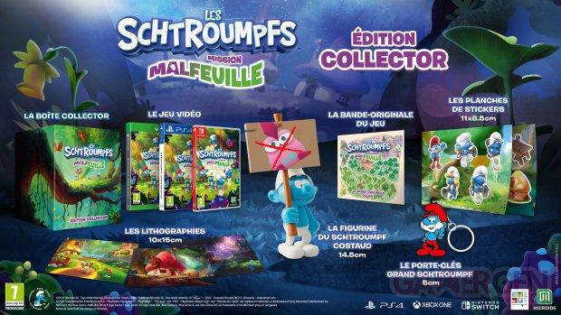 Les Schtroumpfs Mission Malfeuille édition collector 25 06 2021