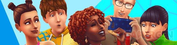 Les Sims 4 Bannière