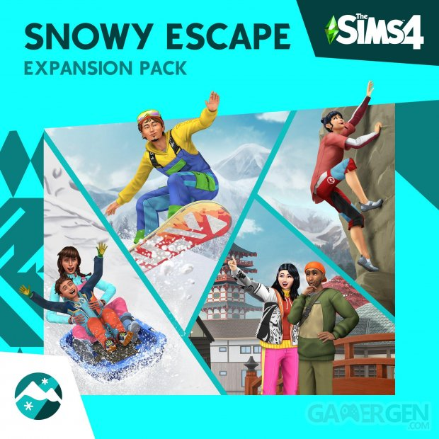 Les Sims 4 Escapade enneigée image