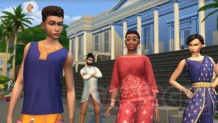 Les Sims 4 Rue de la mode