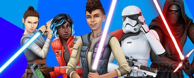 Les Sims 4 Star Wars  Voyage sur Batuu test image