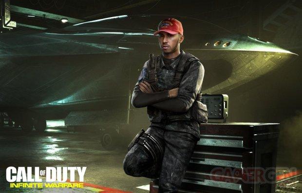 Lewis Hamilton Call of Duty Infinite Warfare