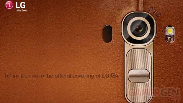 lg g4 invitation