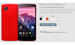 LG Google Nexus 5 boutique appareils Google Play Store