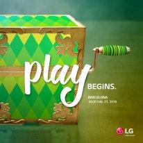 LG play begins affiche MWC 2016