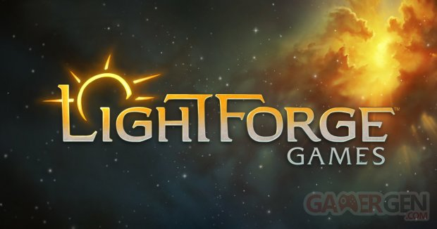 LightforgeGames Space Banner Logo