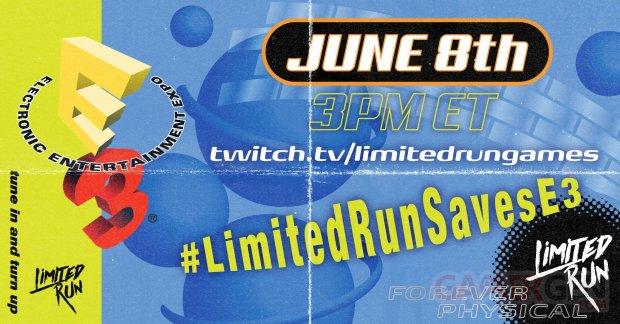 Limited Run Games E3 11 02 2020