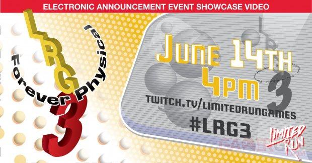 Limited Run Games E3 2021 25 05 2021