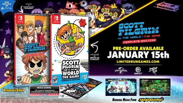 Limited Run Games Scott Pilgrim Vs The World The Game (Switch)