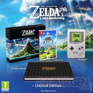 Link's Awakening Zelda Edition Limitée