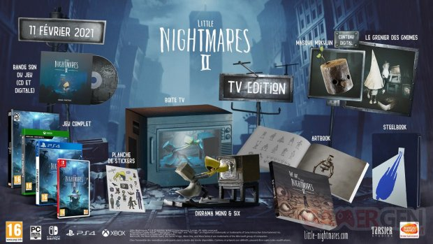 Little Nightmares collector TV Edition
