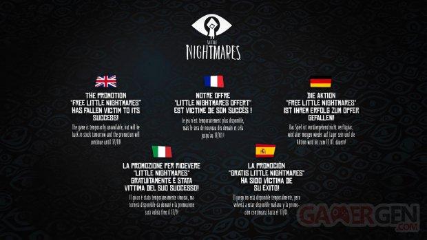 Little Nightmares gratuit