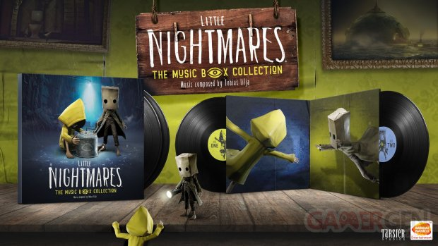 LITTLE NIGHTMARES I & II VINYLE The Music Box Collection