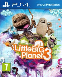 LittleBigPlanet 3 jaquette ps4
