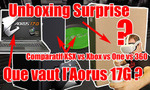 REPLAY LIVE : unboxing surprise, que vaut le PC gaming Aorus 17G, comparatif Xbox Series X versus les autres Xbox, Q&A