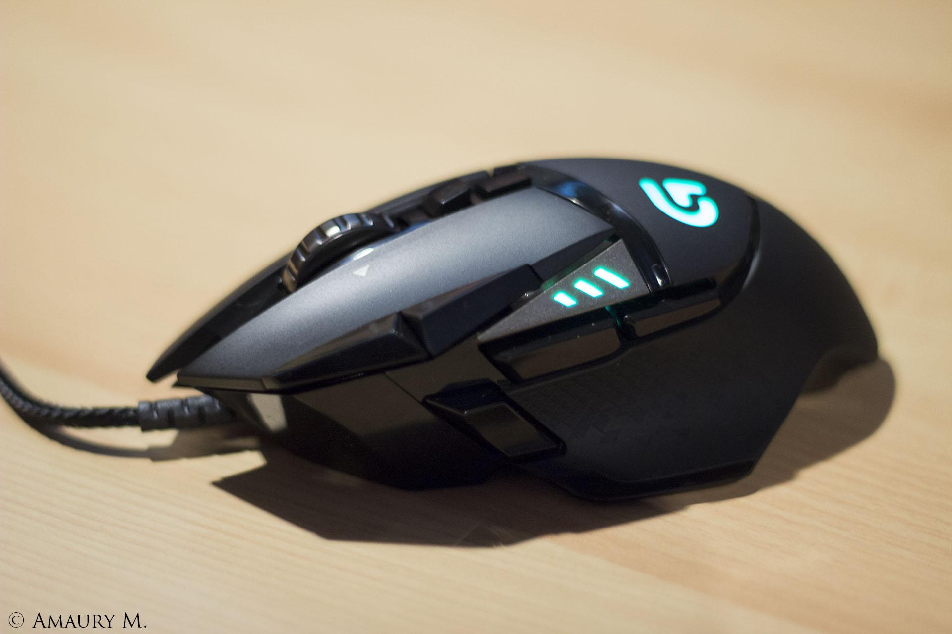 TEST Logitech G502 Proteus Spectrum : une souris avec 11
