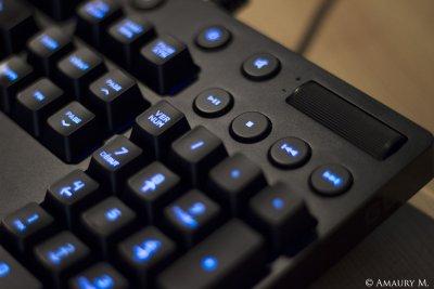 test logitech g810 orion spectrum un clavier m canique sobre pour les gamers mais surtout. Black Bedroom Furniture Sets. Home Design Ideas